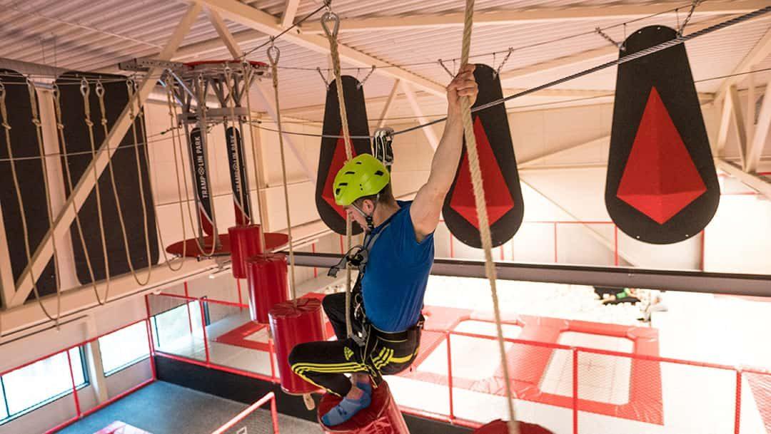 Sisäseikkailupuisto avattu Kauppi Sports Centeriin!