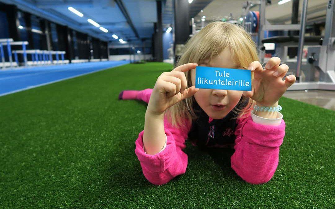 Lasten liikuntaleirit Kauppi Sports Centerissä